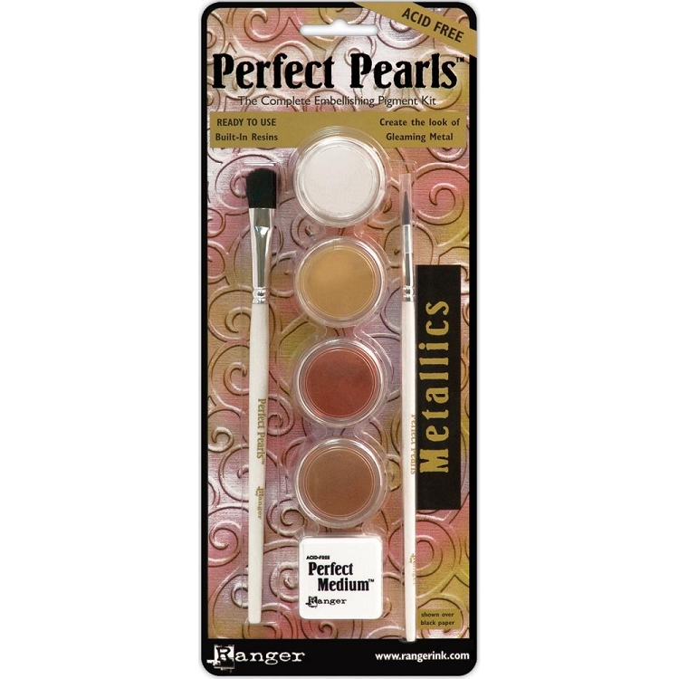 Metallic Perfect Pearls Pigment Powders