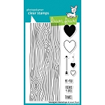 Woodgrain Backdrops Stamp Set