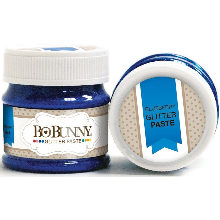 Double Dot Glitter Paste Blueberry