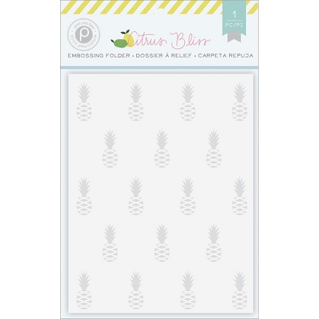 Citrus Bliss Pineapple Embossing Folder
