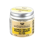 Micro Beads Silver
