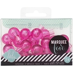 Marquee Love Bulb Caps - Pink