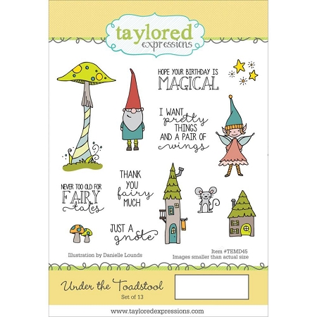 Under the Toadstool Stamp Set