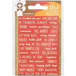 Give Thanks Phrase Stickers