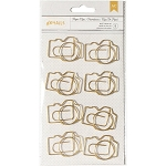 Designer Desktop Essentials Jumbo Camera Paper Clips