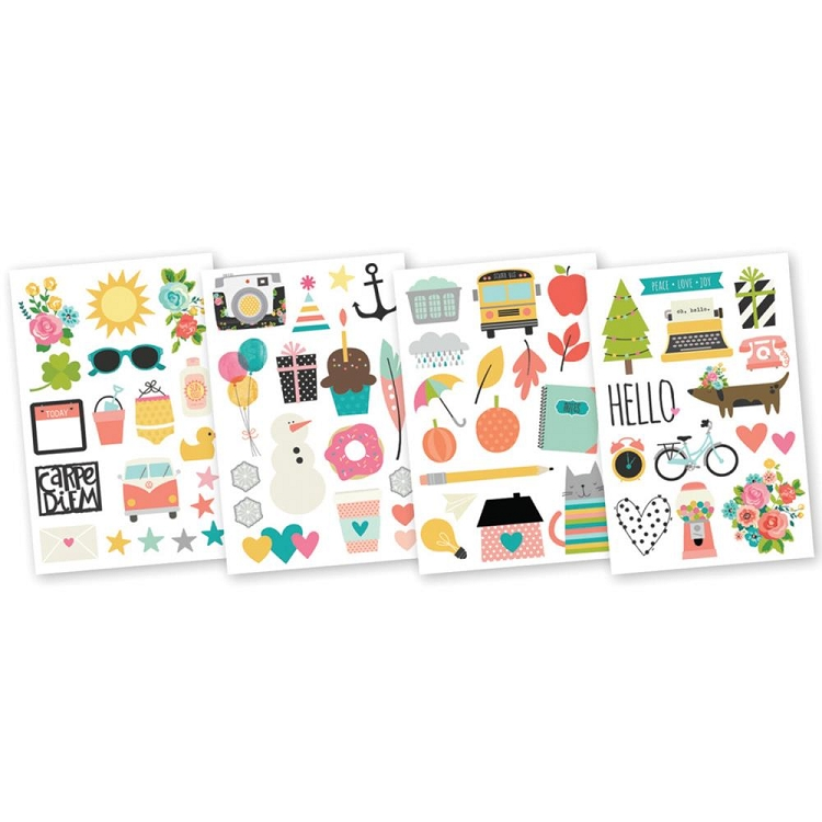 Carpe Diem Illustrated Life Stickers