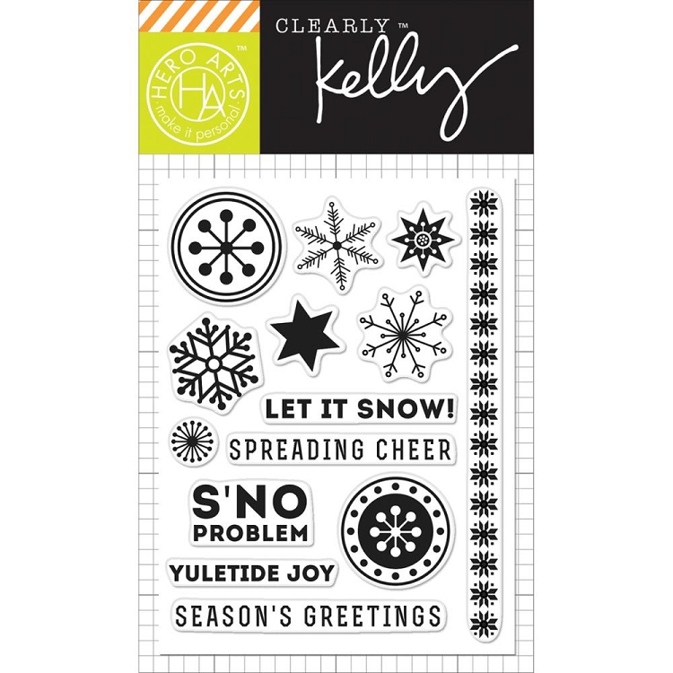 Kelly's S'no Problem Stamp Set