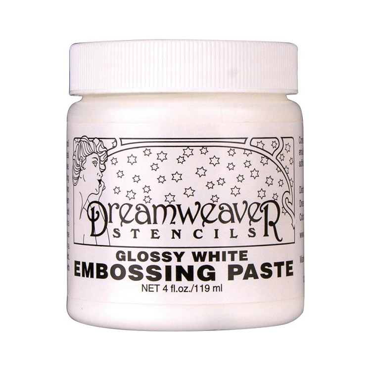 Glossy White Embossing Paste