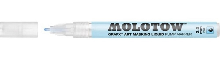 Masking Fluid Refillable Marker 2mm Round