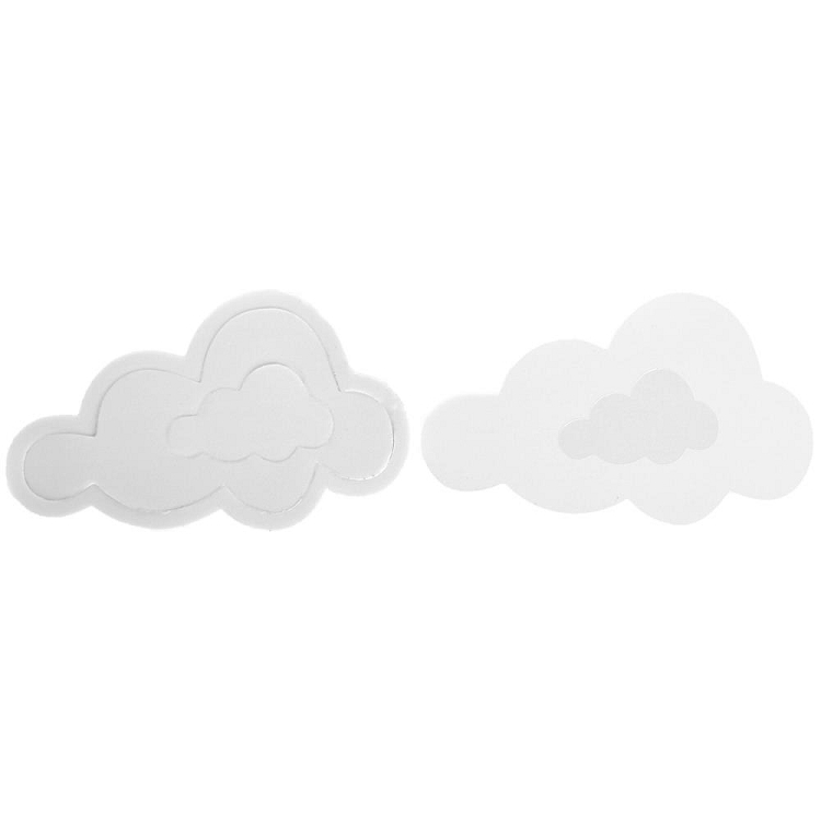 Pop Up Foam Stickers Clouds