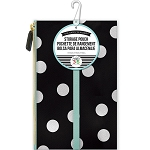 Create 365 Planner White Scattered Dot Pouch