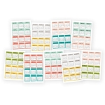 Carpe Diem Posh Calendar Mini Stickers