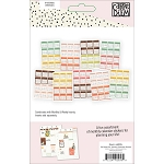 Carpe Diem Reset Girl Mini Calendar Stickers