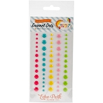 Summer Party Enamel Dots