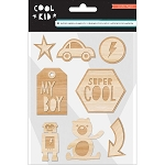 Cool Kid Wood Veneer Shapes