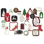 Comfort & Joy Decorative Tags