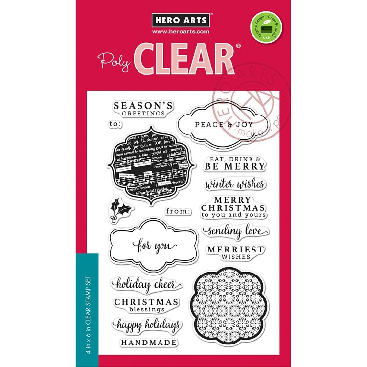 Holiday Messages & Tags Stamp Set