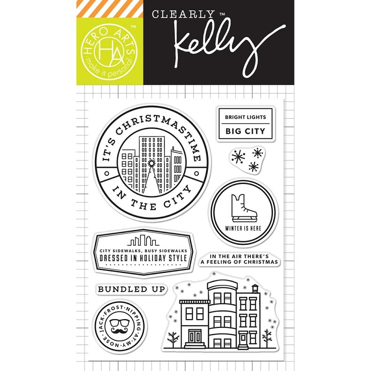 Kelly's It's Chistmas Time Stamp Set