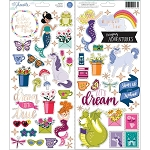 Head in the Clouds Accent & Phrase Stickers