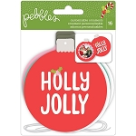 Holly Jolly Ornament Die Cuts