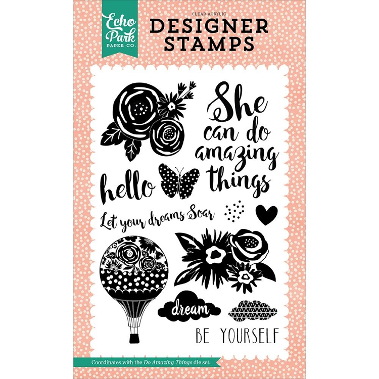Do Amazing Things Stamp Set