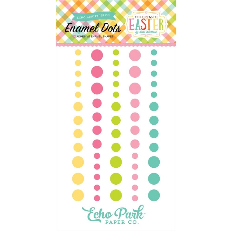 Celebrate Easter Enamel Dots