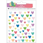 Stay Sweet Epoxy Heart Stickers