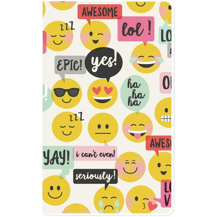 Carpe Diem Emoji Love Journal