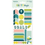 Happy Days Planner Stickers