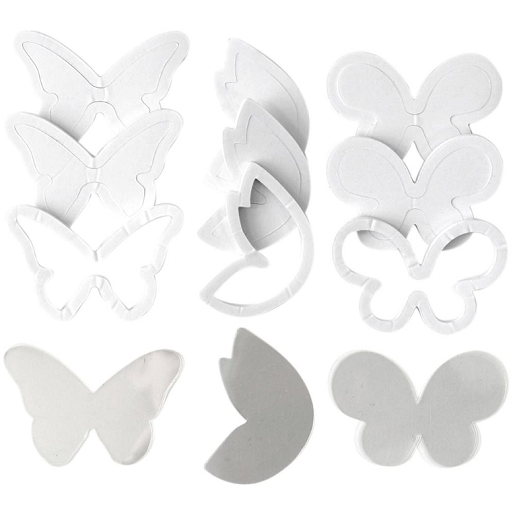 Foam Card Kit Refill Butterflies