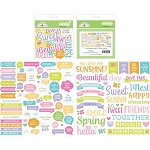 Simply Spring Chit Chat Die Cuts