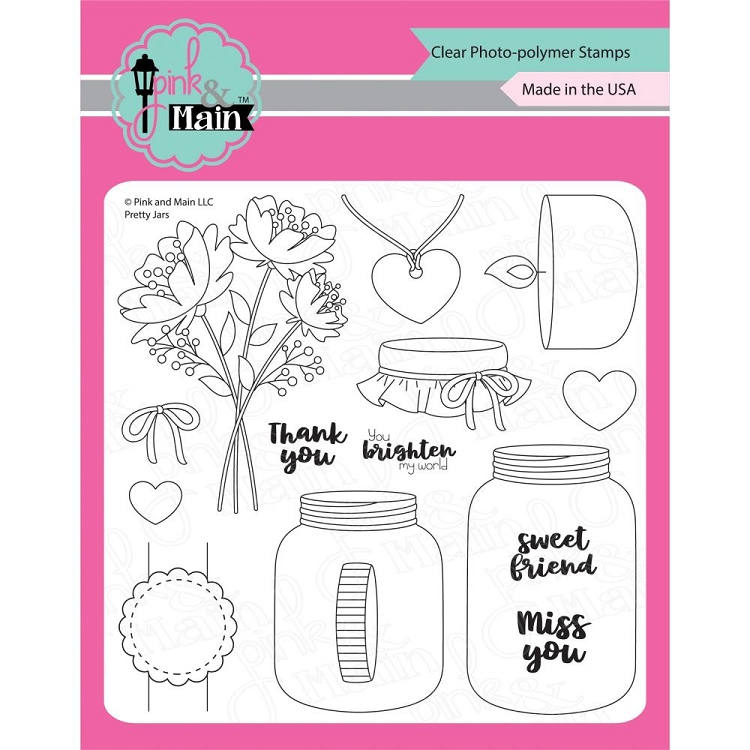 Pretty Jars Stamp Set