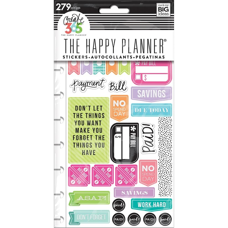 Create 365 Planner Get Paid Stickers