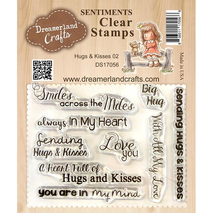 Hugs & Kisses 2 Stamp Set