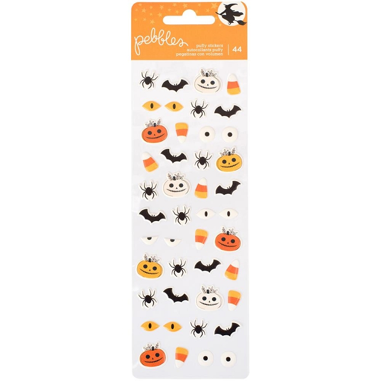 Midnight Haunting Puffy Stickers