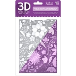 English Rose Embossing Folder