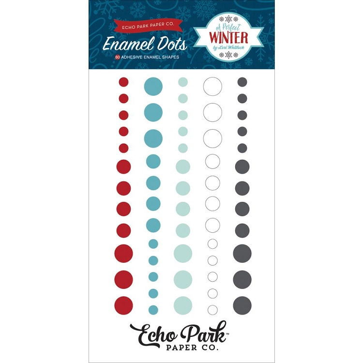 Perfect Winter Enamel Dots