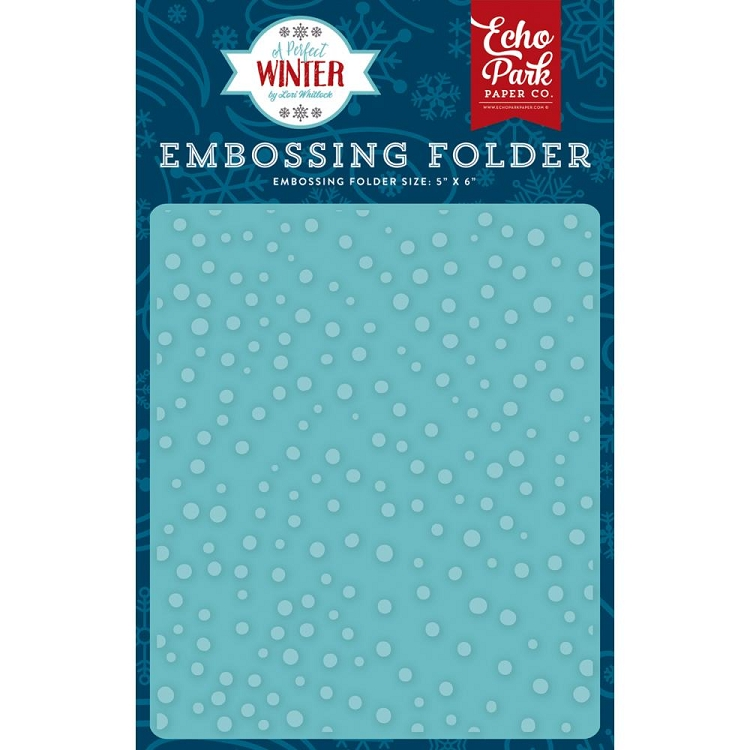 Perfect Winter Snow Day Embossing Folder