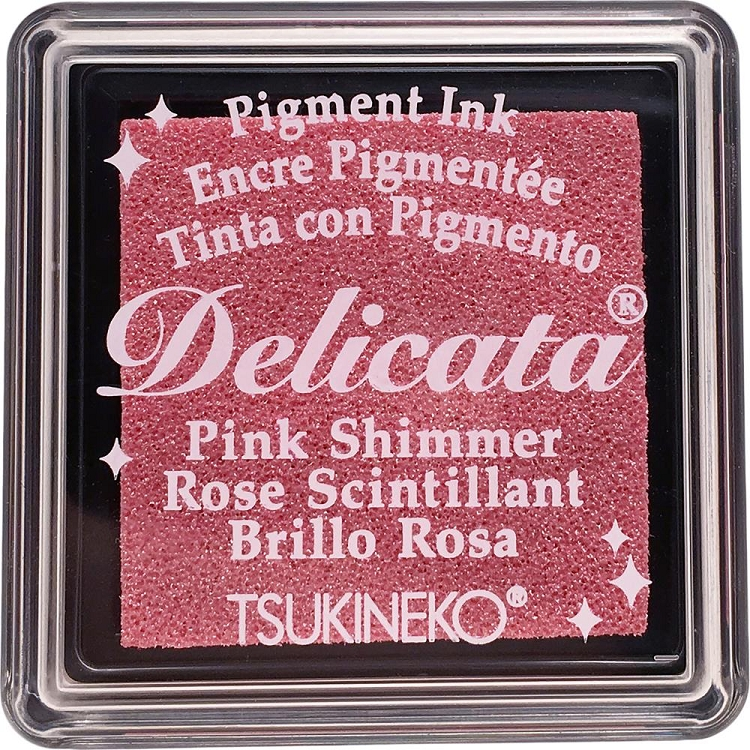 Delicata Small Ink Pad Pink Shimmer