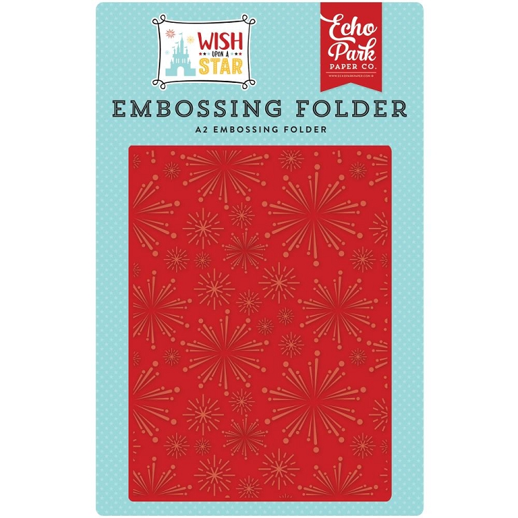 Light Up The Sky Embossing Folder