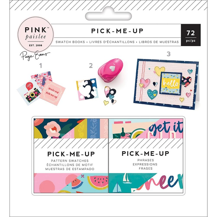 Pick Me Up Mini Swatch Book