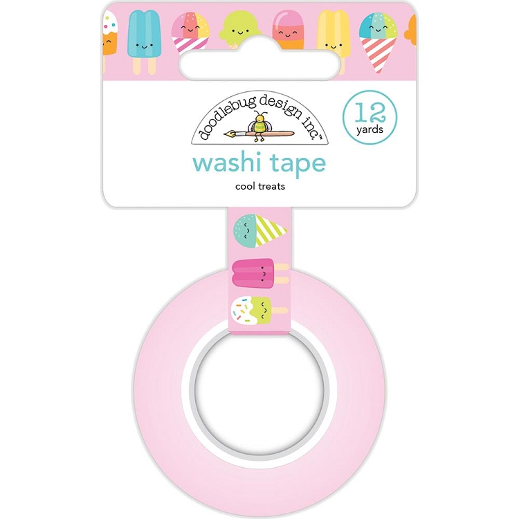 Sweet Summer Cool Treats Washi Tape