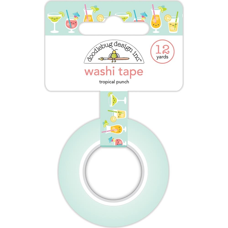 Sweet Summer Tropical Punch Washi Tape