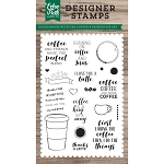 Coffee & Friends Stamp Set