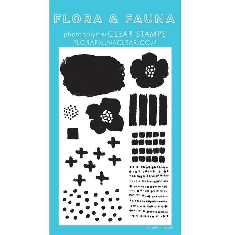 Texture Five Stamp Set