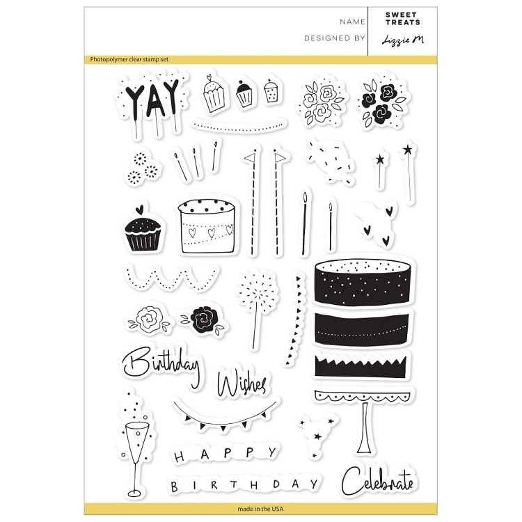 Sweet Treats Stamp Set