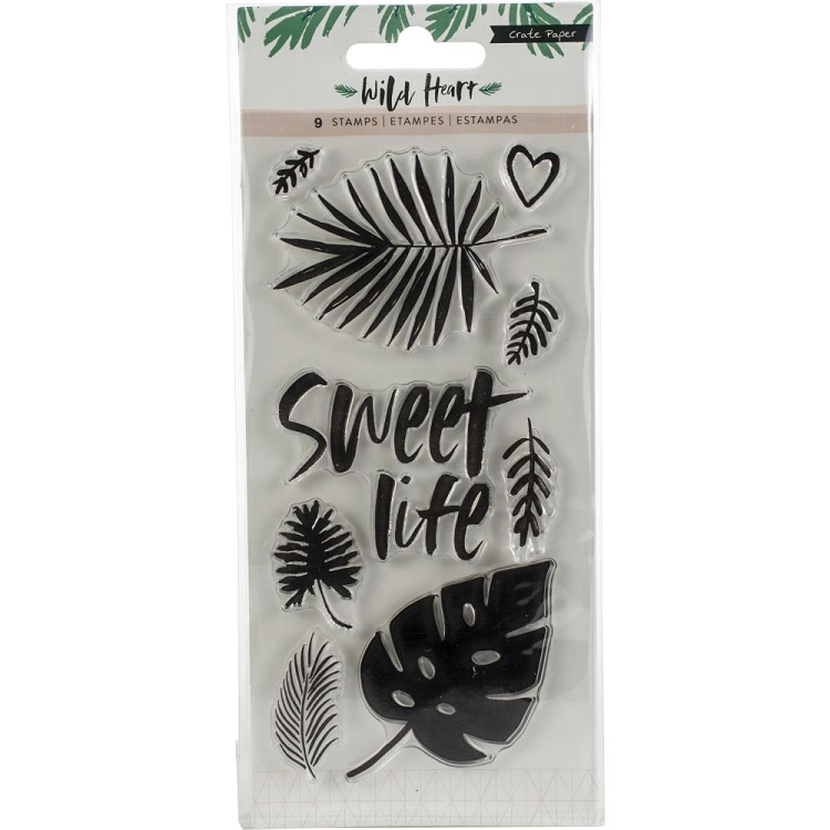 Wild Heart Stamp Set