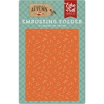 Celebrate Autumn Autumn Florals Embossing Folder