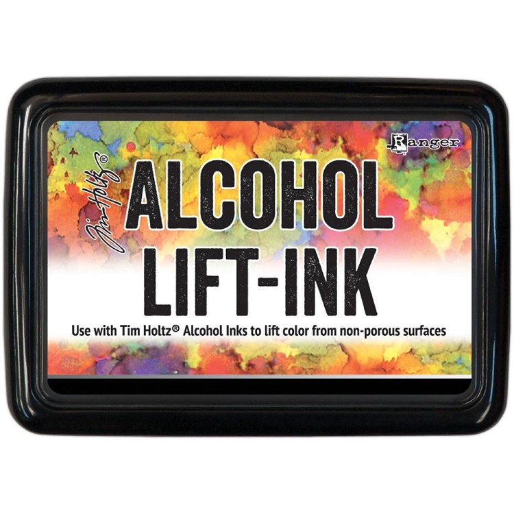 Alcohol Lift-Ink Pad