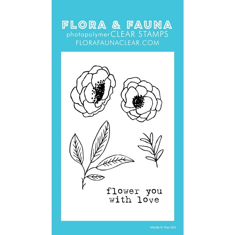 Mini Flower with Love Stamp Set